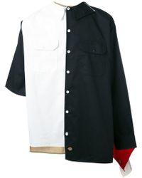 Liam Hodges - Asymmetric Shirt - Lyst