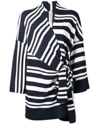 Antonio Marras - Wrap Knitted Top - Lyst