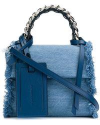 Elena Ghisellini | Denim Crossbody Bag | Lyst