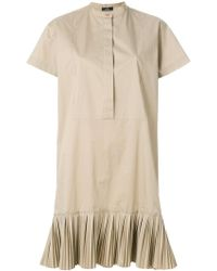 PS by Paul Smith | Button Pleated Dress | Lyst