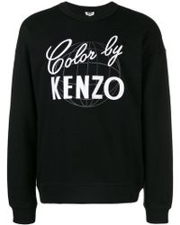 KENZO - Cool By Embroidered Sweatshirt - Lyst