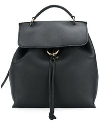 Ferragamo - Classic Fold Over Backpack - Lyst