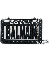 Balmain - Loves Crossbody Bag - Lyst