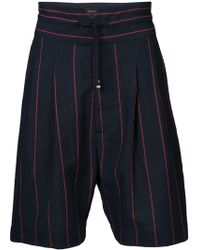 Vivienne Westwood - Striped Tailored Shorts - Lyst