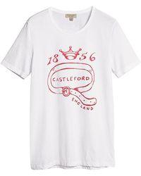 Burberry - Castleford Print T-shirt - Lyst