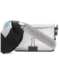Off-White c/o Virgil Abloh - Metallic Mirror Mini Patent Leather Shoulder Bag - Lyst