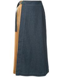 Guild Prime - Pleated Midi Skirt - Lyst