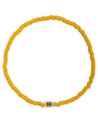 Luis Morais - Small Cross Of Loraine Barrel Bracelet - Lyst