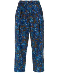 Andrea Marques - Belted Trousers - Lyst