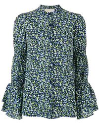 MICHAEL Michael Kors - Floral Print Shirt - Lyst
