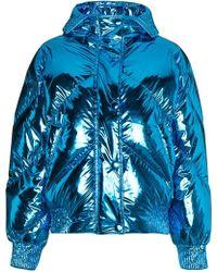 Ienki Ienki - Metallic Cropped Puffer Jacket - Lyst