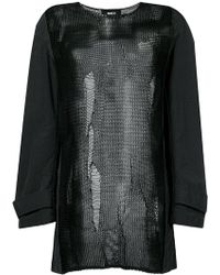 Yang Li - Embroidered Long-sleeve Top - Lyst