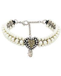 Rada' - Heart Choker Necklace - Lyst