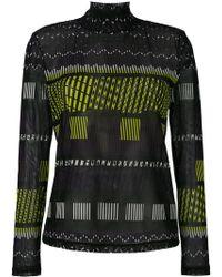 Issey Miyake - Printed Sweatshirt - Lyst