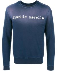Frankie Morello - Front Logo Top - Lyst