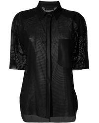DROMe - Balinay Skulled Shirt - Lyst