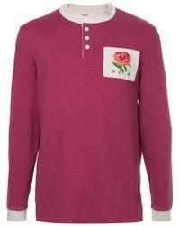 Kent & Curwen - Long-sleeve Logo Polo Top - Lyst