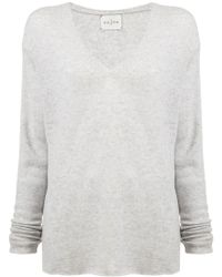 Le Kasha - Long-sleeve Fitted Sweater - Lyst