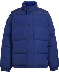 Burberry - Detachable-sleeve Down-filled Puffer Jacket - Lyst