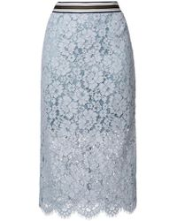 Dorothee Schumacher - Straight Lace Skirt - Lyst