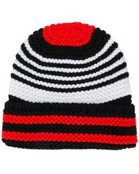 Sonia Rykiel - Striped Beanie - Lyst