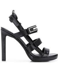 ab22f06af51f Lyst - Sam Edelman Shirley Suede Demi-wedge Sandal in Black