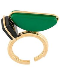 Marni - Geometric Oversized Ring - Lyst