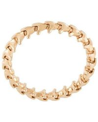 Shaun Leane - 18kt Rose Gold 'serpent's Trace' Ring - Lyst