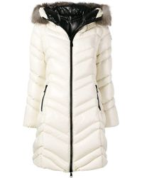 Moncler - Hooded Puffer Coat - Lyst