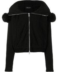 Andrea Ya'aqov - Hooded Zip Up Jacket - Lyst
