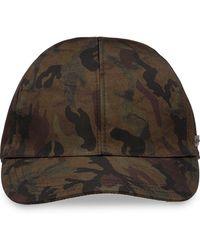 Prada - Cappello baseball con stampa camouflage - Lyst