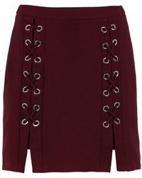 Olympiah - Lace Up Detail Messina Skirt - Lyst