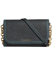 Burberry - Topstitch Detail Wallet - Lyst