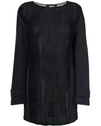 Yang Li - Sheer Coat Sleeve Sweater - Lyst