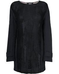 Yang Li - Sheer Coat Sleeve Jumper - Lyst