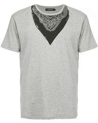 Loveless - Bandana Print T-shirt - Lyst