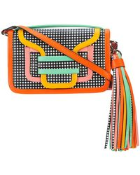 Pierre Hardy   Checkered Colour Block Shoulder Bag With Tassel Detail   Lyst