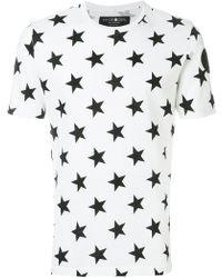 Hydrogen   Star Print T-shirt   Lyst