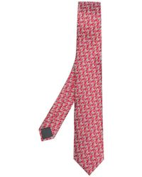 Lanvin - Patterned Classic Tie - Lyst