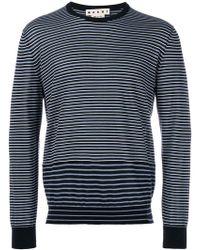 Marni - Graphic Stripe Sweater - Lyst