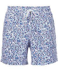 Venroy - Ink Blot Print Swim Shorts - Lyst
