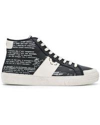 MOA - Printed Hi-top Sneakers - Lyst