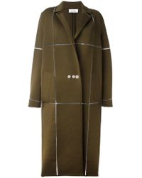 Courreges - Oversized Long Coat - Lyst
