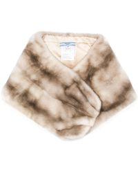 Prada Fur Bolero-style Scarf