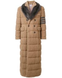 Thom Browne - Down-filled Camel Hair Chesterfield Overcoat - Lyst