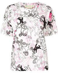 Marni - Rabbit Print T-shirt - Lyst