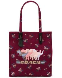 COACH - Tote With Shadow Rexy - Lyst