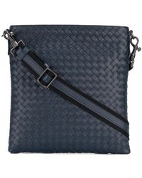Bottega Veneta - Intrecciato Messenger Bag - Lyst