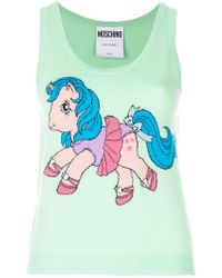 Moschino - My Little Pony Print Tank Top - Lyst