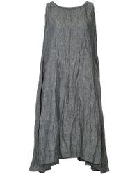 Casey Casey - Creased Mid-length Dress - Lyst